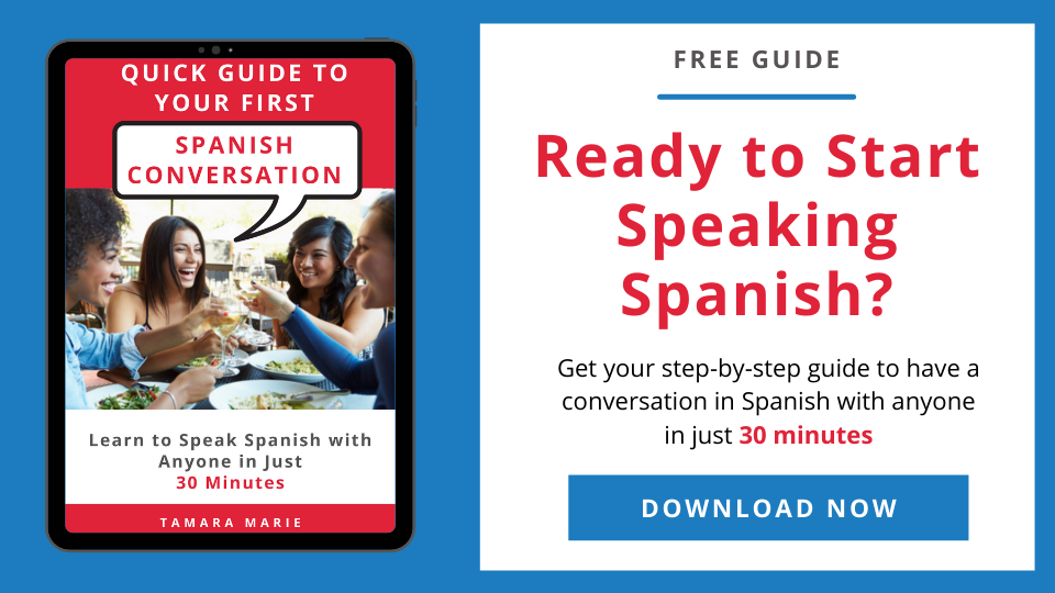 Quick Guide to Your First Spanish Conversation