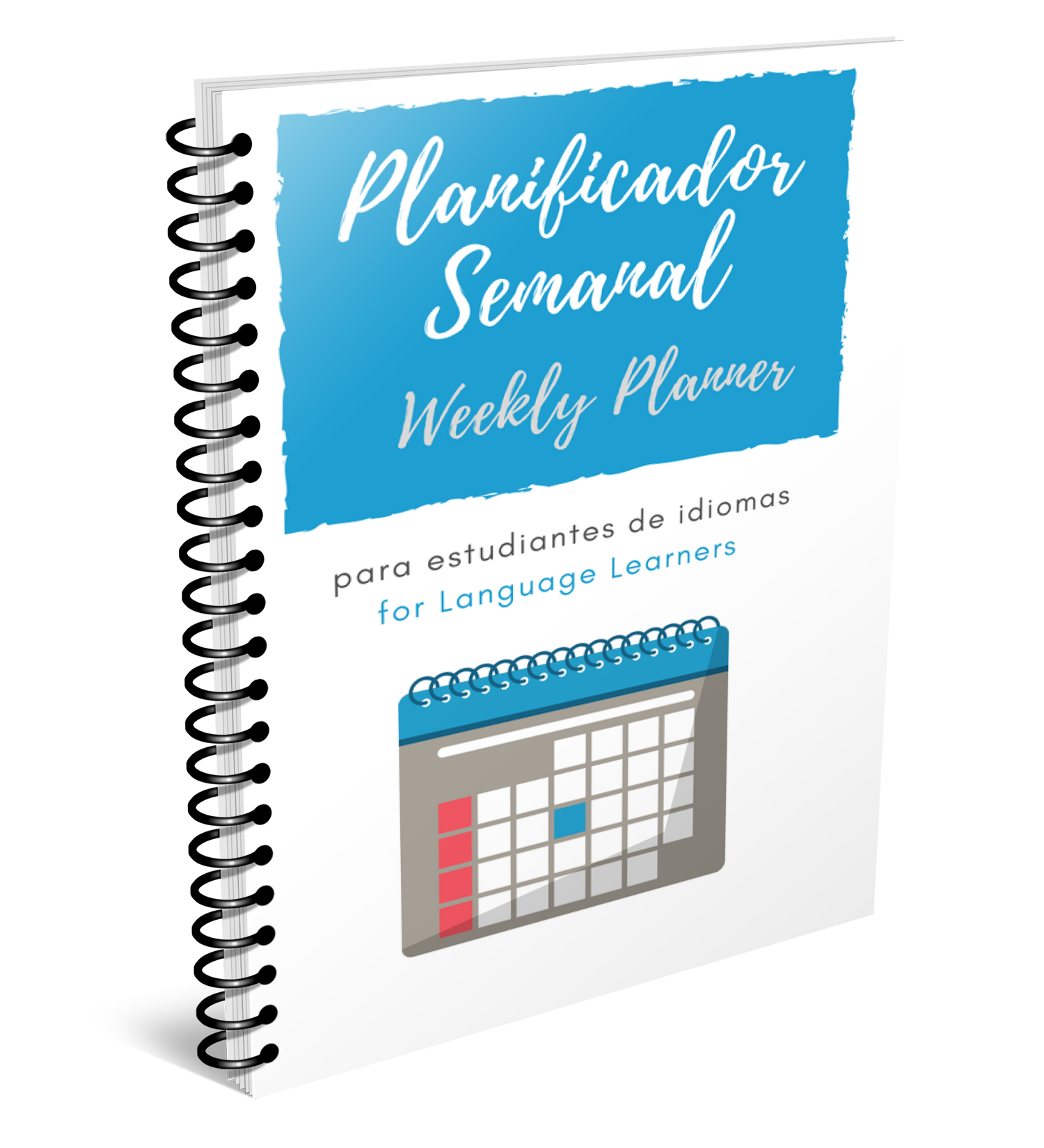 Weekly Planner for Spanish Language Learners