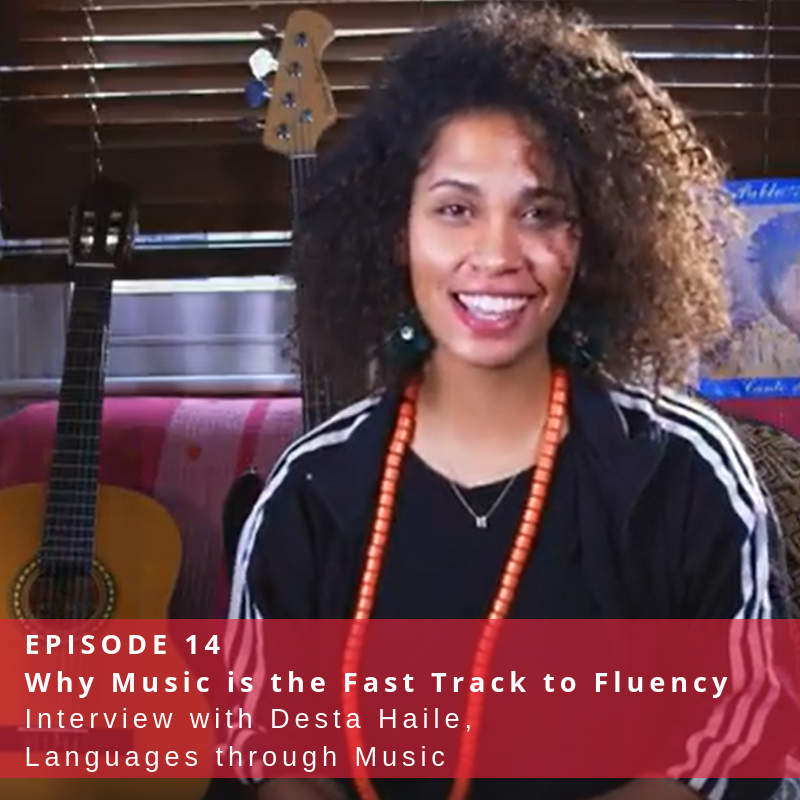 Interview with Desta Haile, Languages through Music