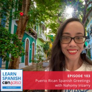 Puerto Rican Spanish Greetings
