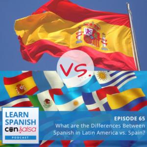 Spanish in Latin America vs. Spain